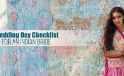 Wedding Day Checklist For An Indian Bride